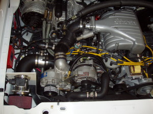 FORD RANGER ENGINE COMPARTMENT