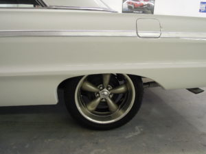 Coy wheels on the 1964 Impala SS