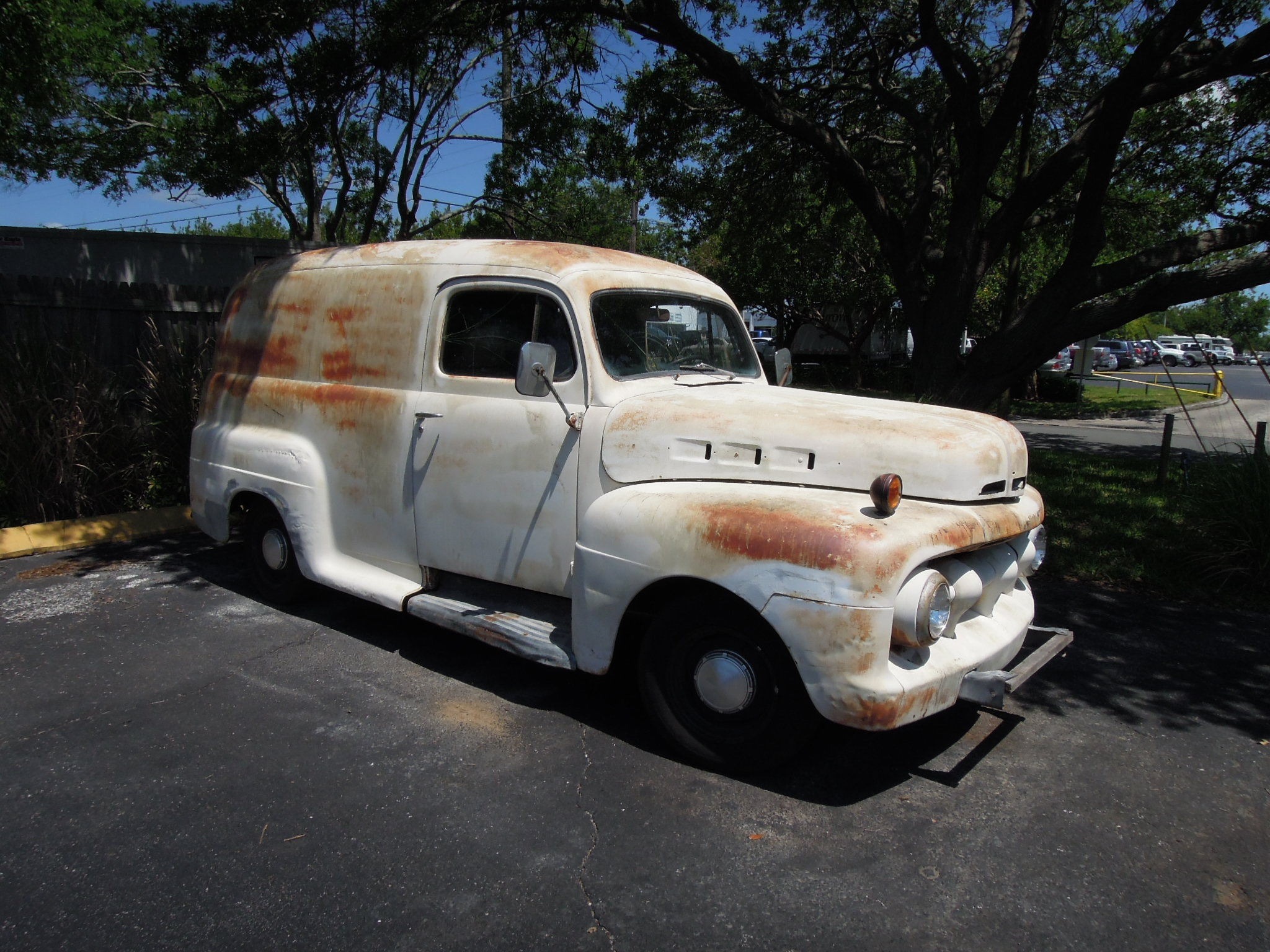 Before And After Photos Bills Auto Restoration 1951 Ford Tow Truck Panel