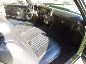 1972 Chevy Malibu restoration interior color change